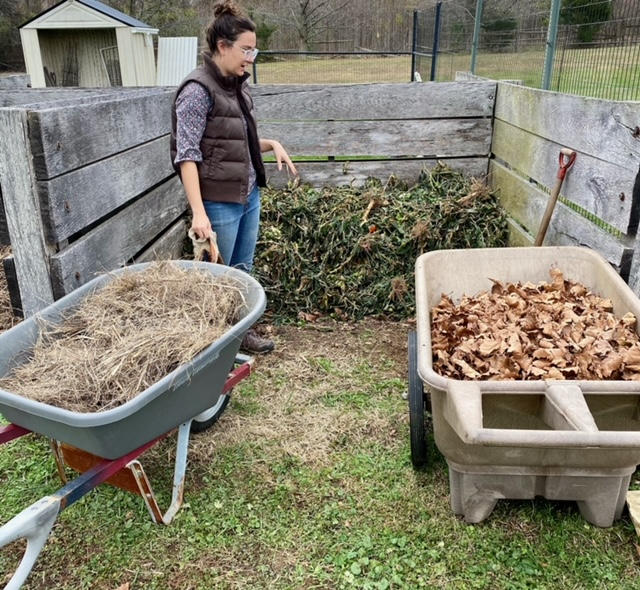 managing compost in the cold weather